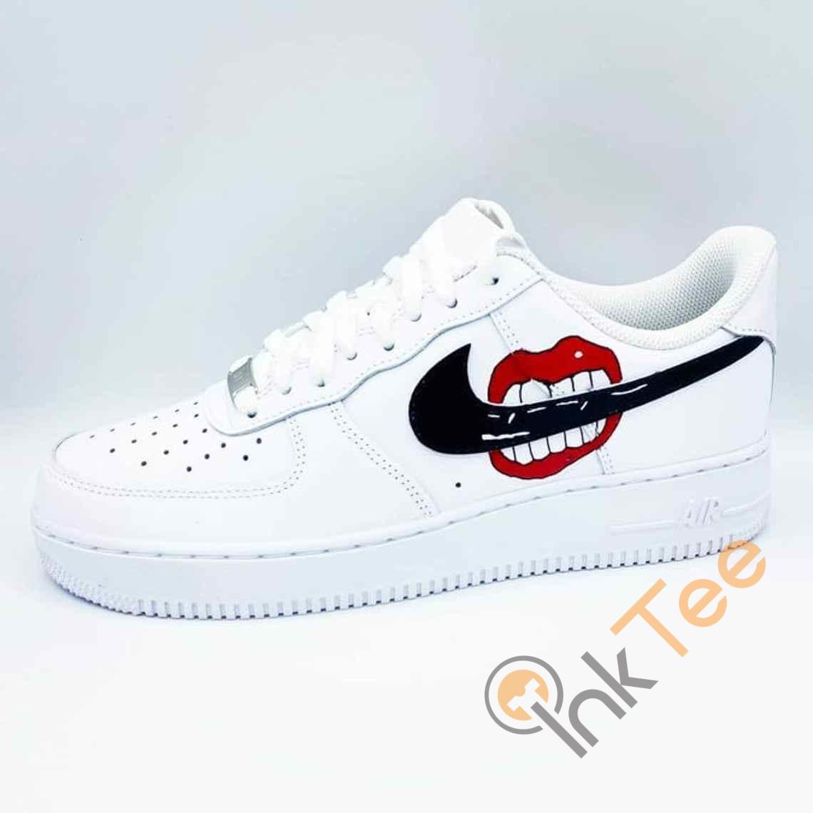 Kiss Me Custom Nike Air Force One Shoes