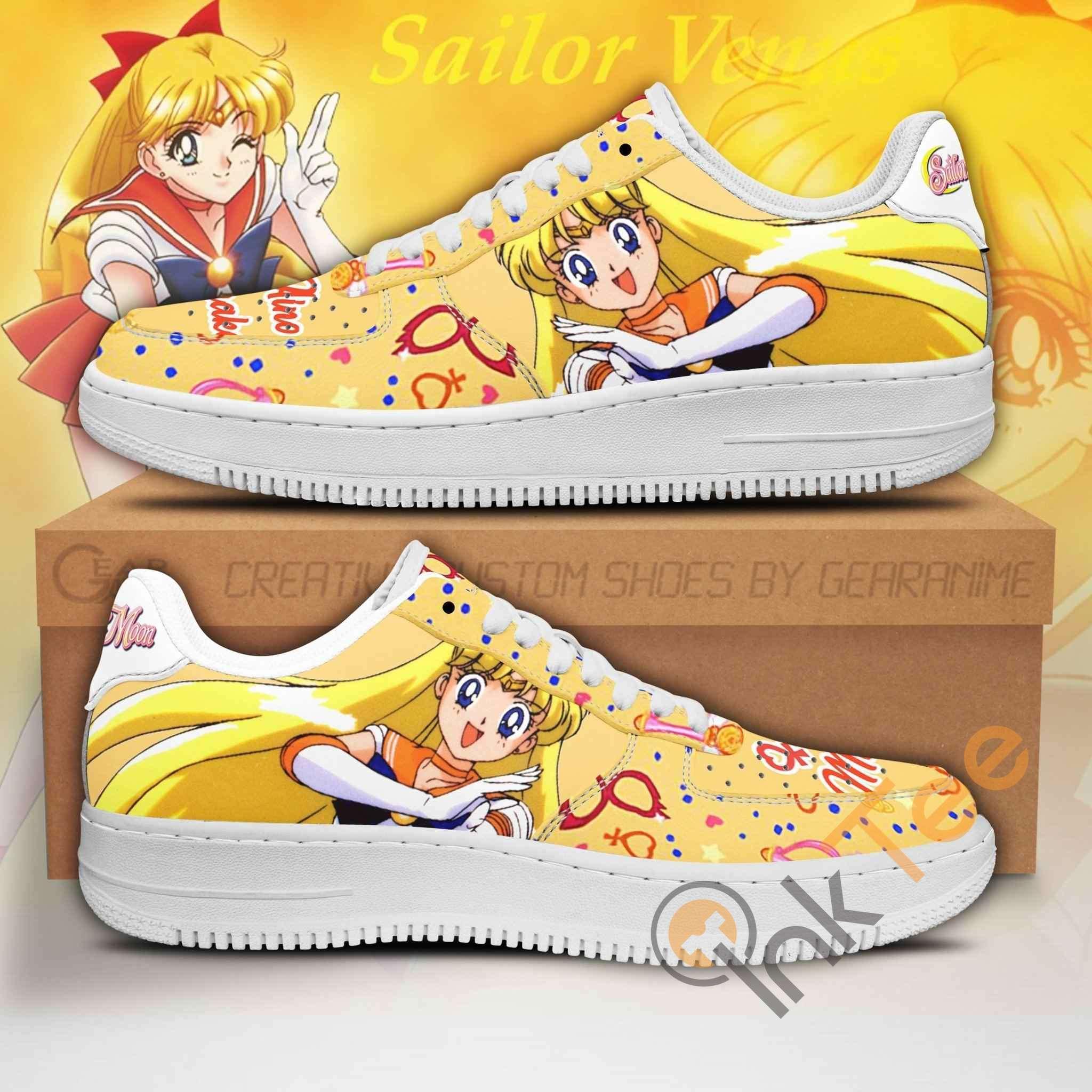 Sailor Venus Sailor Moon Anime Nike Air