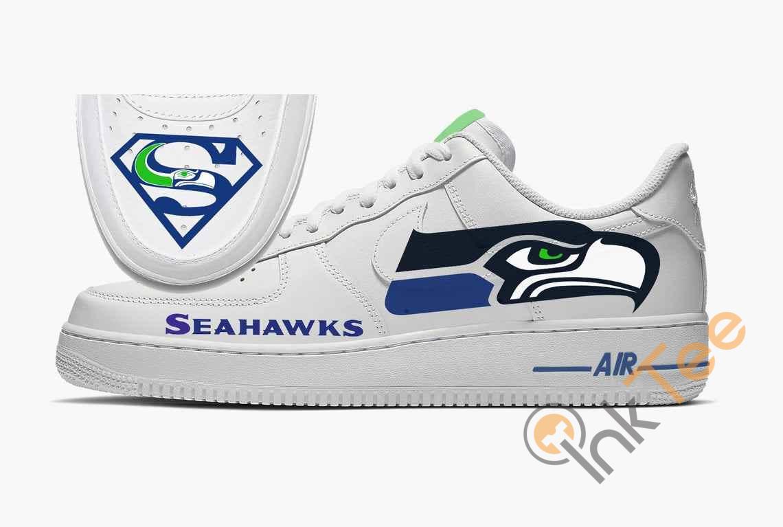 Seattle Seahawks Custom Custom Nike Air