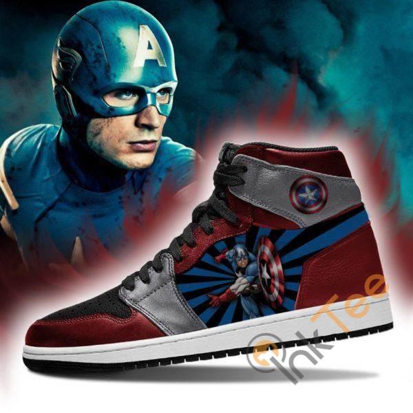 Captain America Sport Custom Sneakers