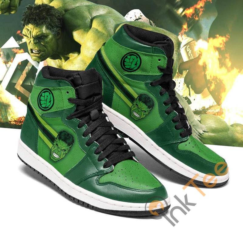 Hulk Marvel Hulk Avengers Custom Sneakers It1274 Air Jordan Shoes