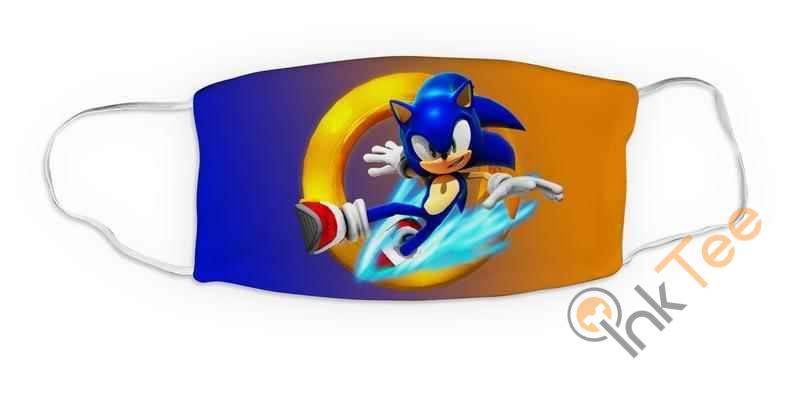 Kids Sonic Acrobat Reusable Washable 5076 Face Mask