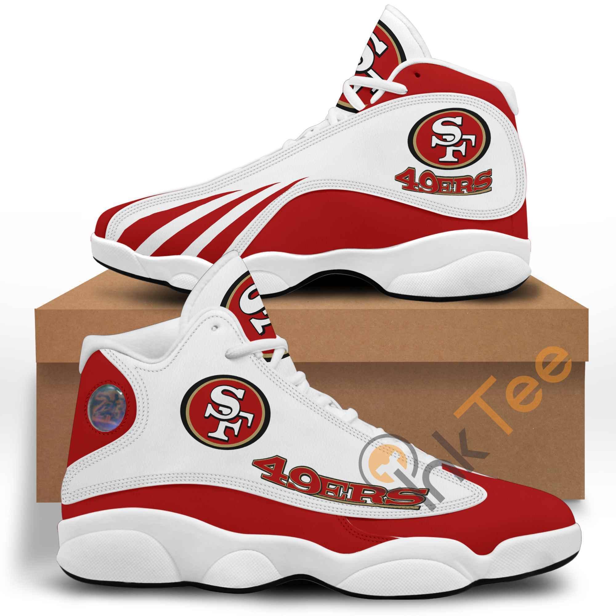 Nfl San Francisco 49ers Red Air Jordan