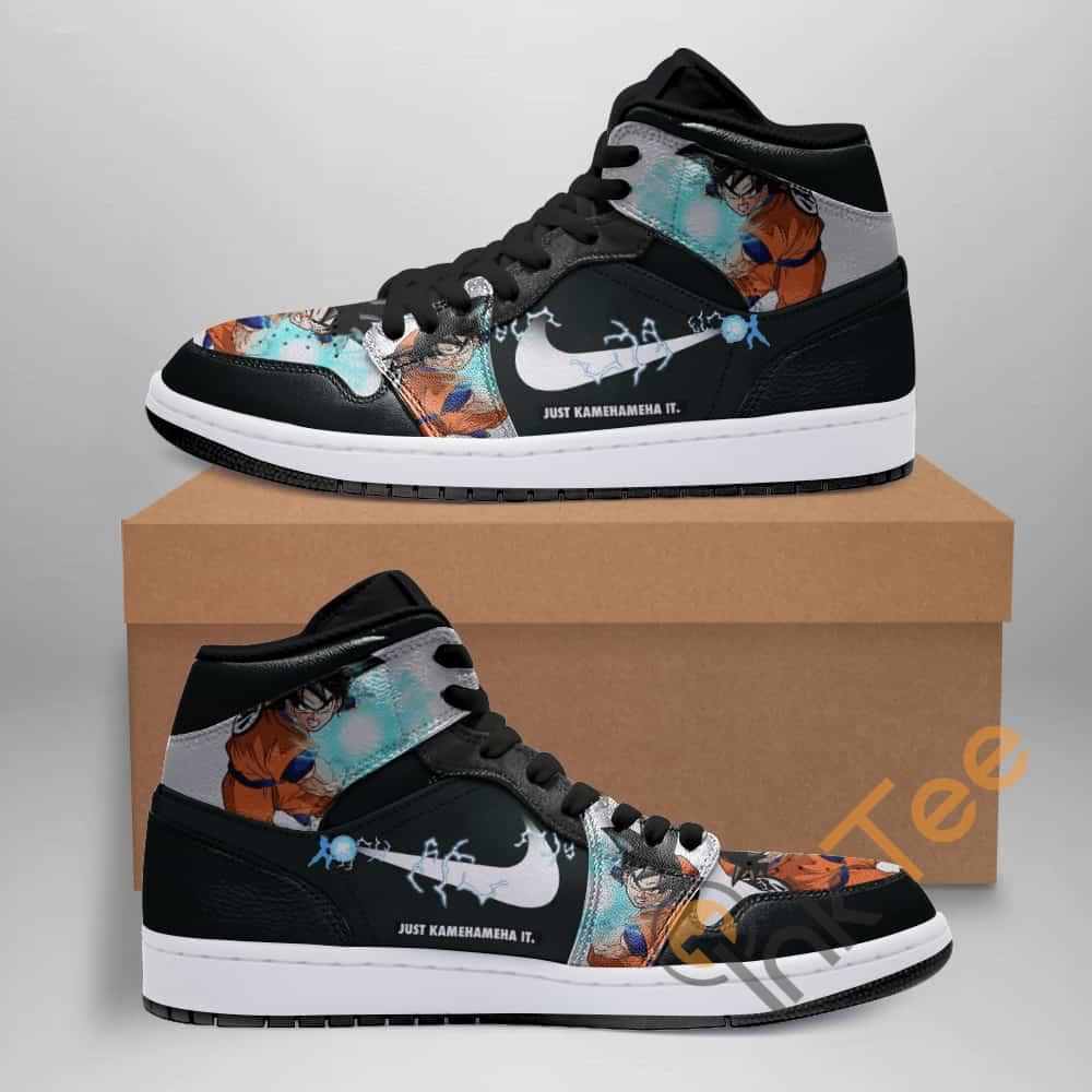 Dragon Ball Goku Just Kamehameha Custom Air Jordan Shoes