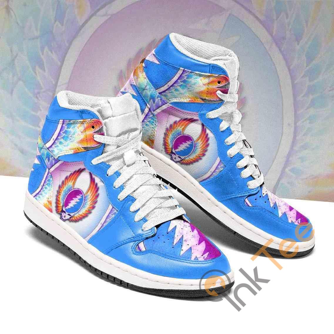 Grateful Dead Custom Custom Air Jordan Shoes