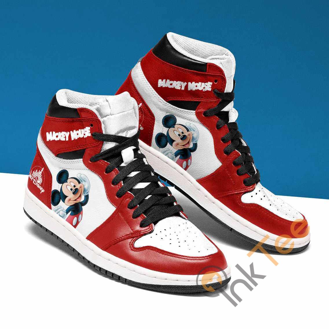 Mickey Mouse Rescue Custom Air Jordan Shoes