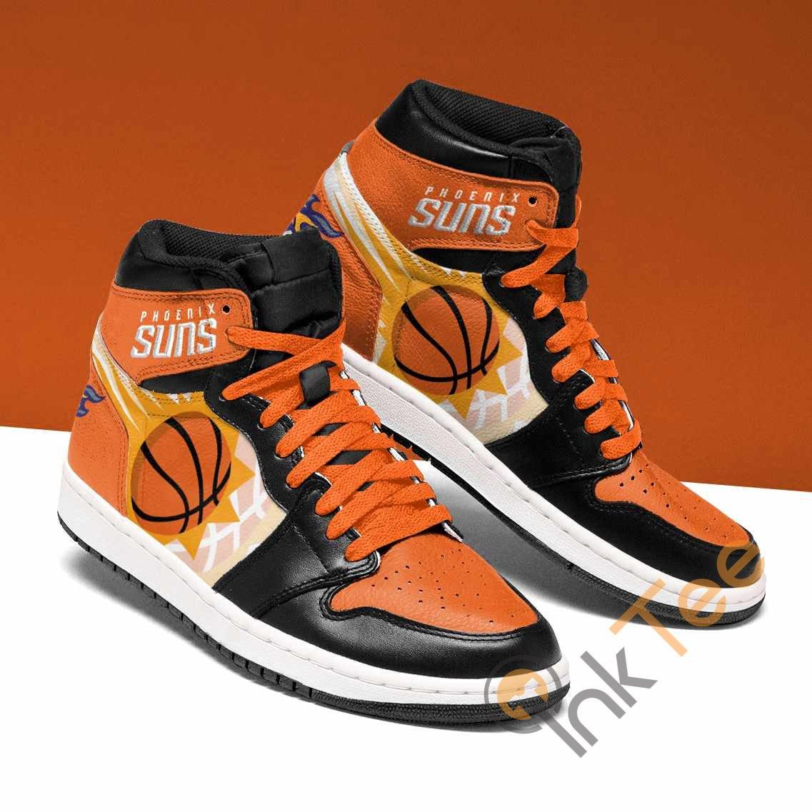 Phoenix Suns Custom Air Jordan Shoes