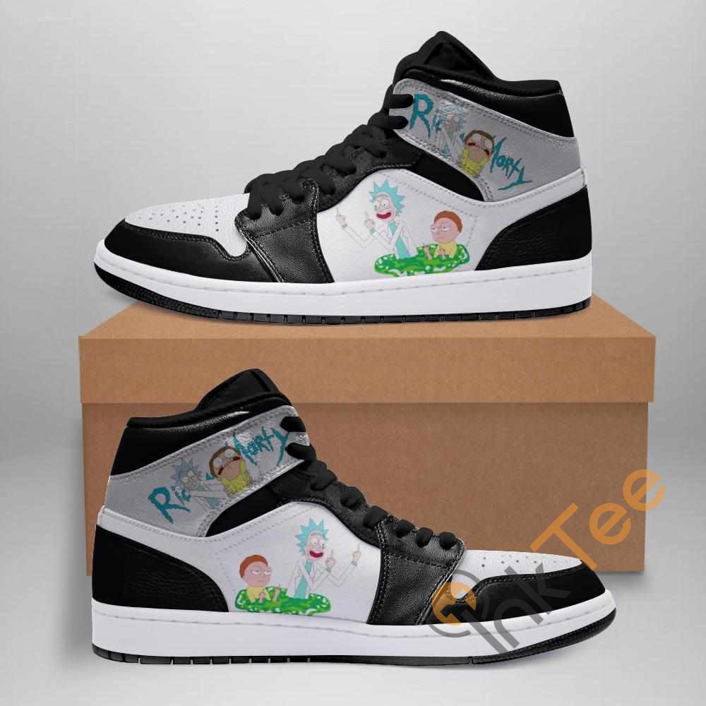 Rick And Morty Ha08 Custom Air Jordan Shoes
