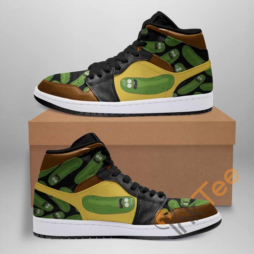 Rick And Morty Ha117 Custom Air Jordan Shoes