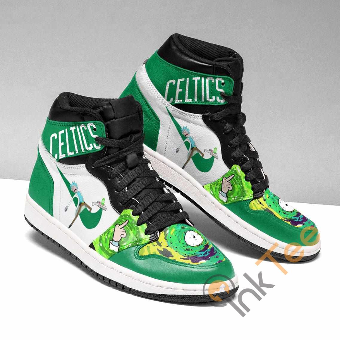 Rick And Morty Ha126 Custom Air Jordan Shoes