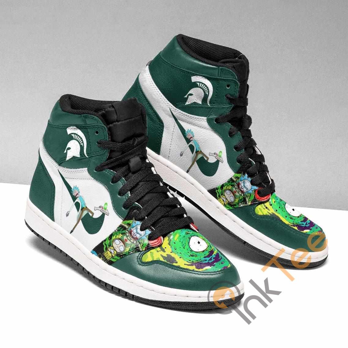 Rick And Morty Michigan Custom Air Jordan Shoes