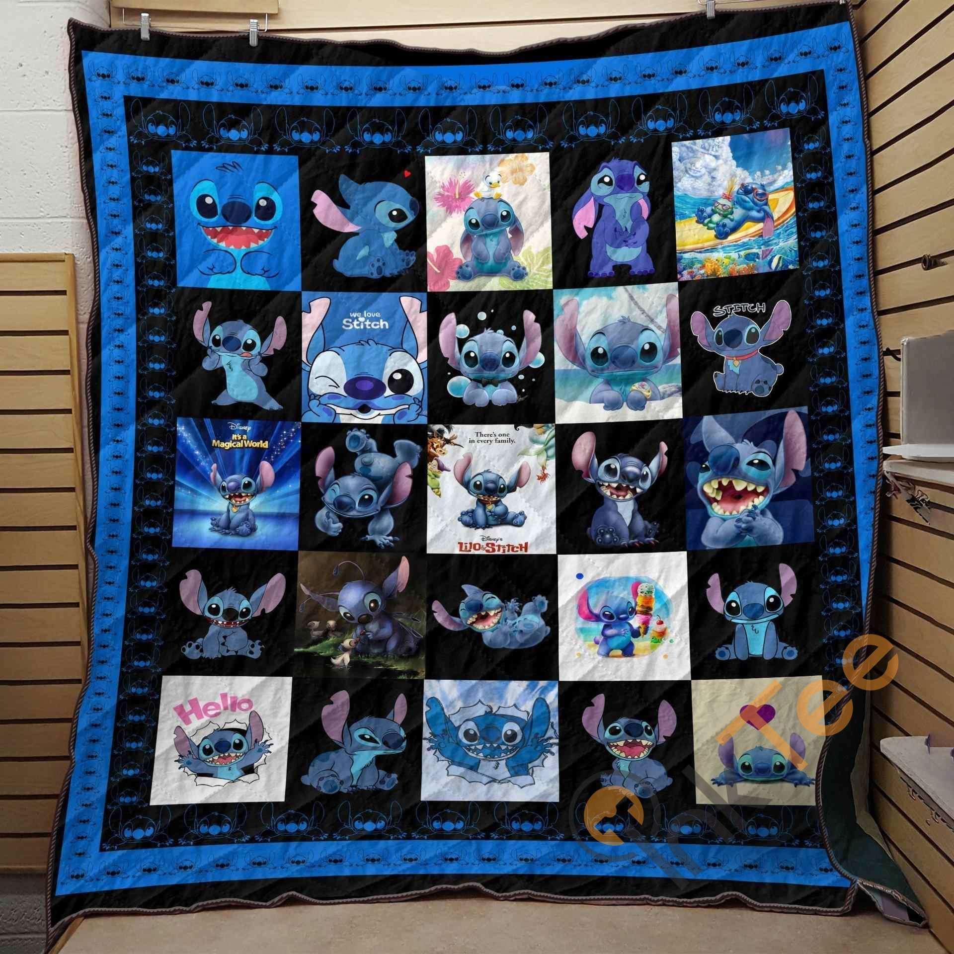 Stitch Stitch Lover Blanket Th0607 Quilt