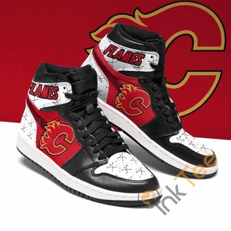 Uic Flames Custom Air Jordan Shoes