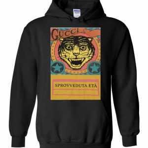 Gucci Tiger Sprovveduta Età De Rerum Natura Hoodies
