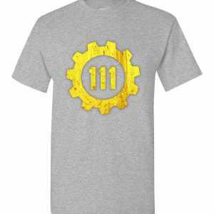 2afcbfcb04 Fallout 4 Vault 111 Men s T Shirt Amazon Best Seller