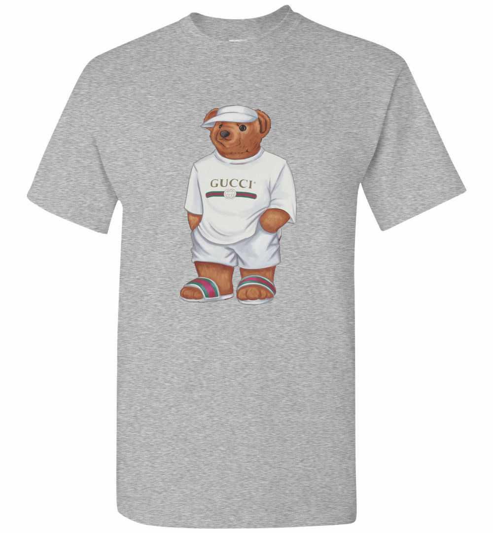 ac0bbd18d18a42 Life's Gucci Bear Men's T Shirt Amazon Best Seller