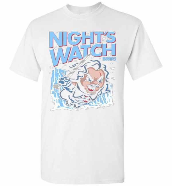 Night's Watch Game of Thrones Men's T Shirt Amazon Best Seller