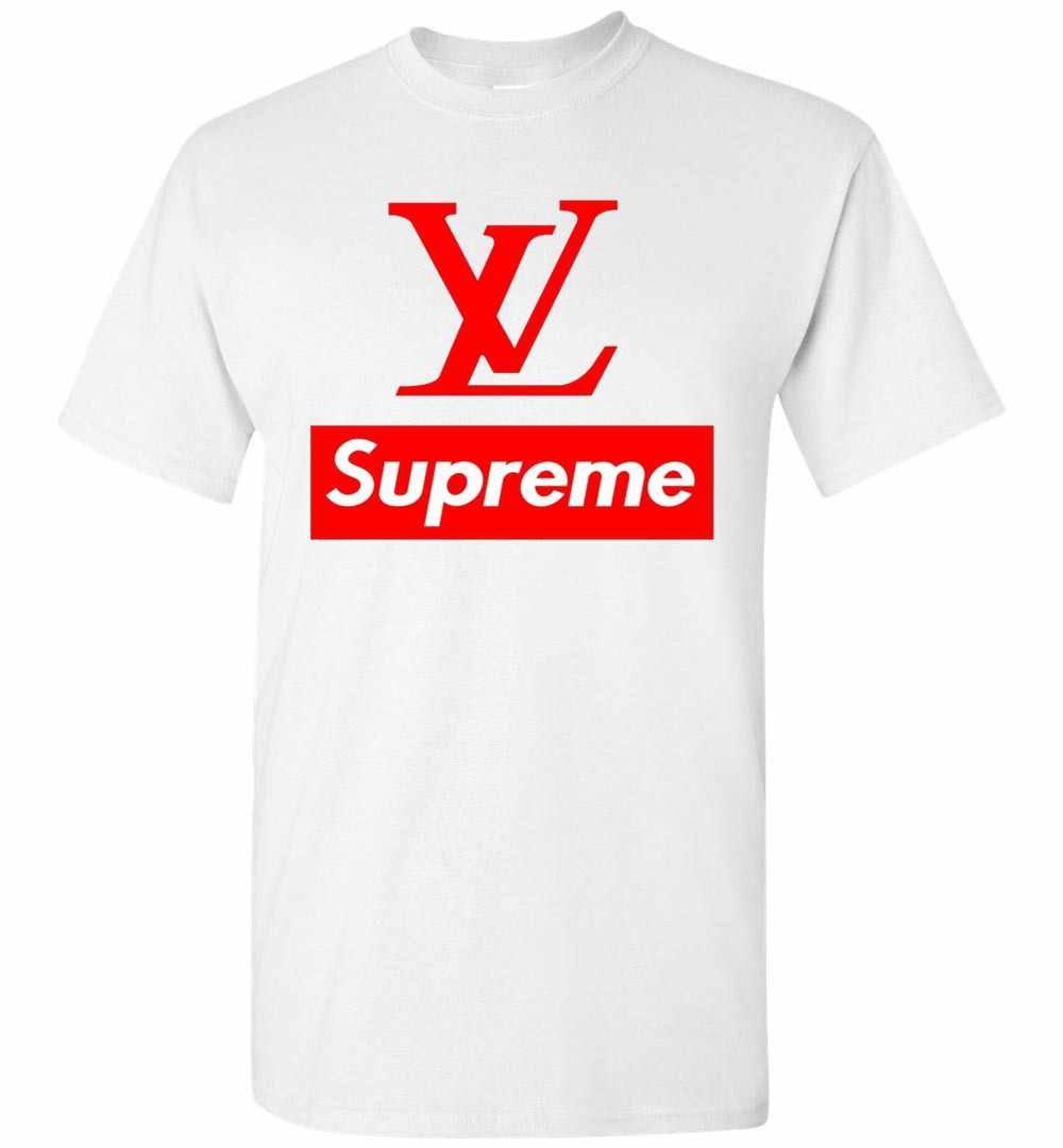 ee3bba5bd8f4c Louis Vuitton Supreme Logo Men's T-Shirt