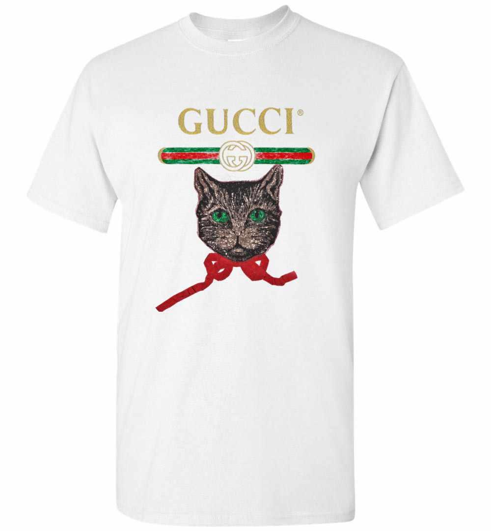 4382a21ac38 Gucci With Mystic Cat Men s T Shirt Amazon Best Seller
