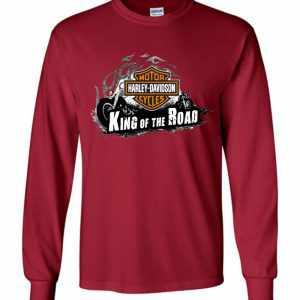 Harley Davidson King Of The Road Long Sleeve T Shirt Amazon Best Seller