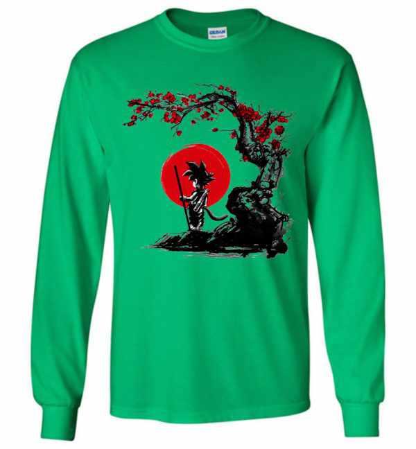 Saiyan Under The Sun Long Sleeve T Shirt Amazon Best Seller