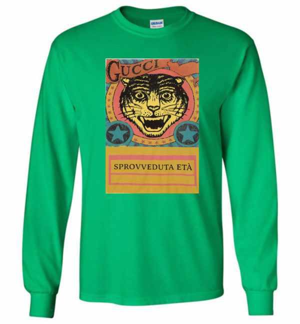 Gucci Tiger Sprovveduta Età De Rerum Natura Long Sleeve T Shirt Amazon Best Seller