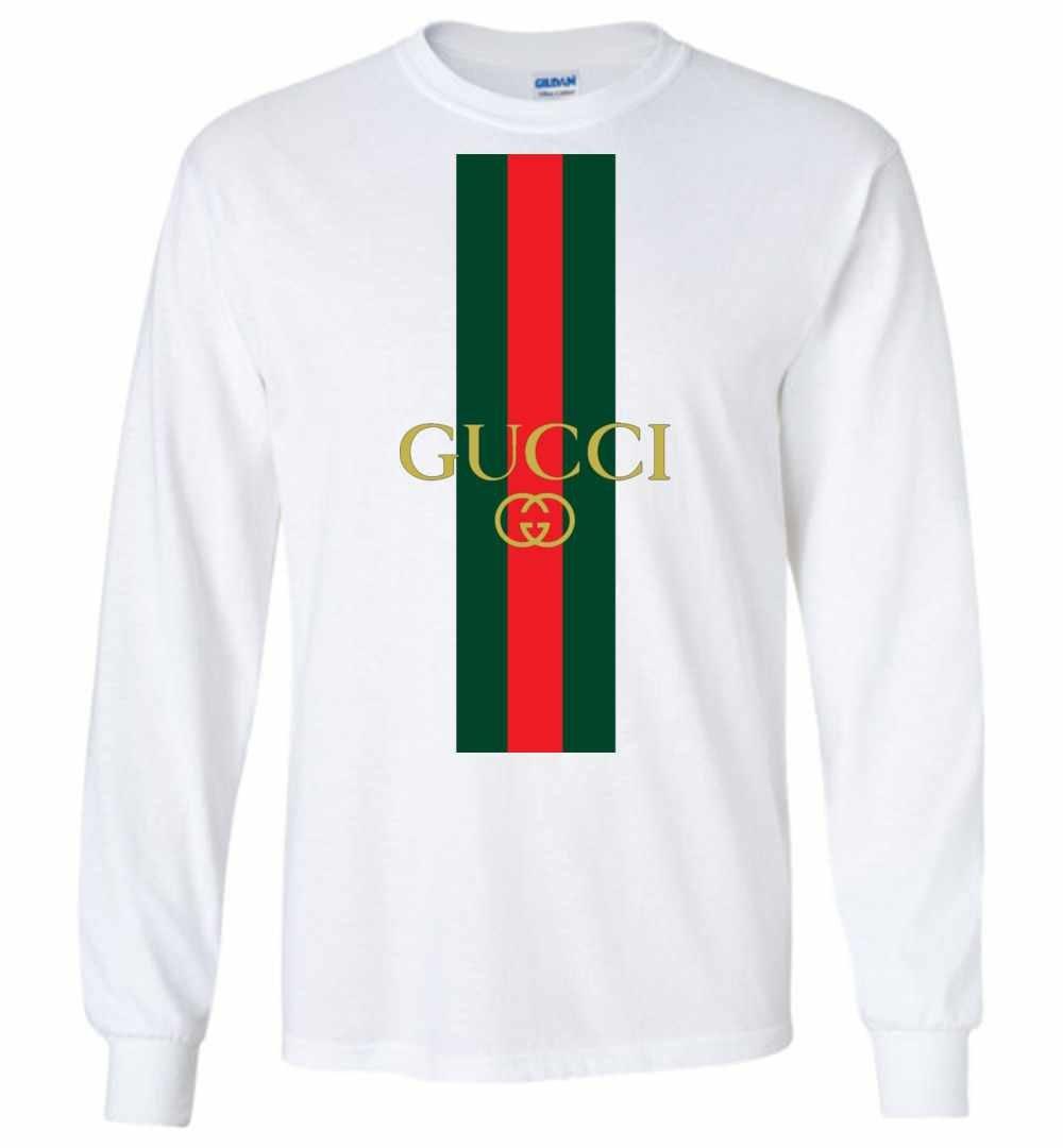 8ed0002c Gucci 2018 Logo Long Sleeve T Shirt ...