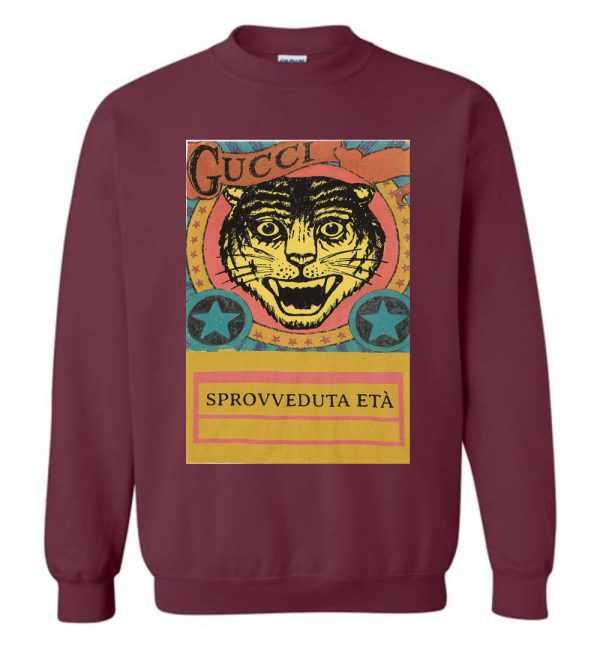 Gucci Tiger Sprovveduta Età De Rerum Natura Sweatshirt Amazon Best Seller