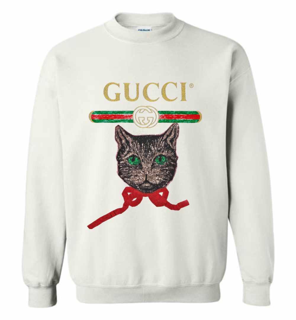 3e18d8b879e Gucci With Mystic Cat Sweatshirt Amazon Best Seller