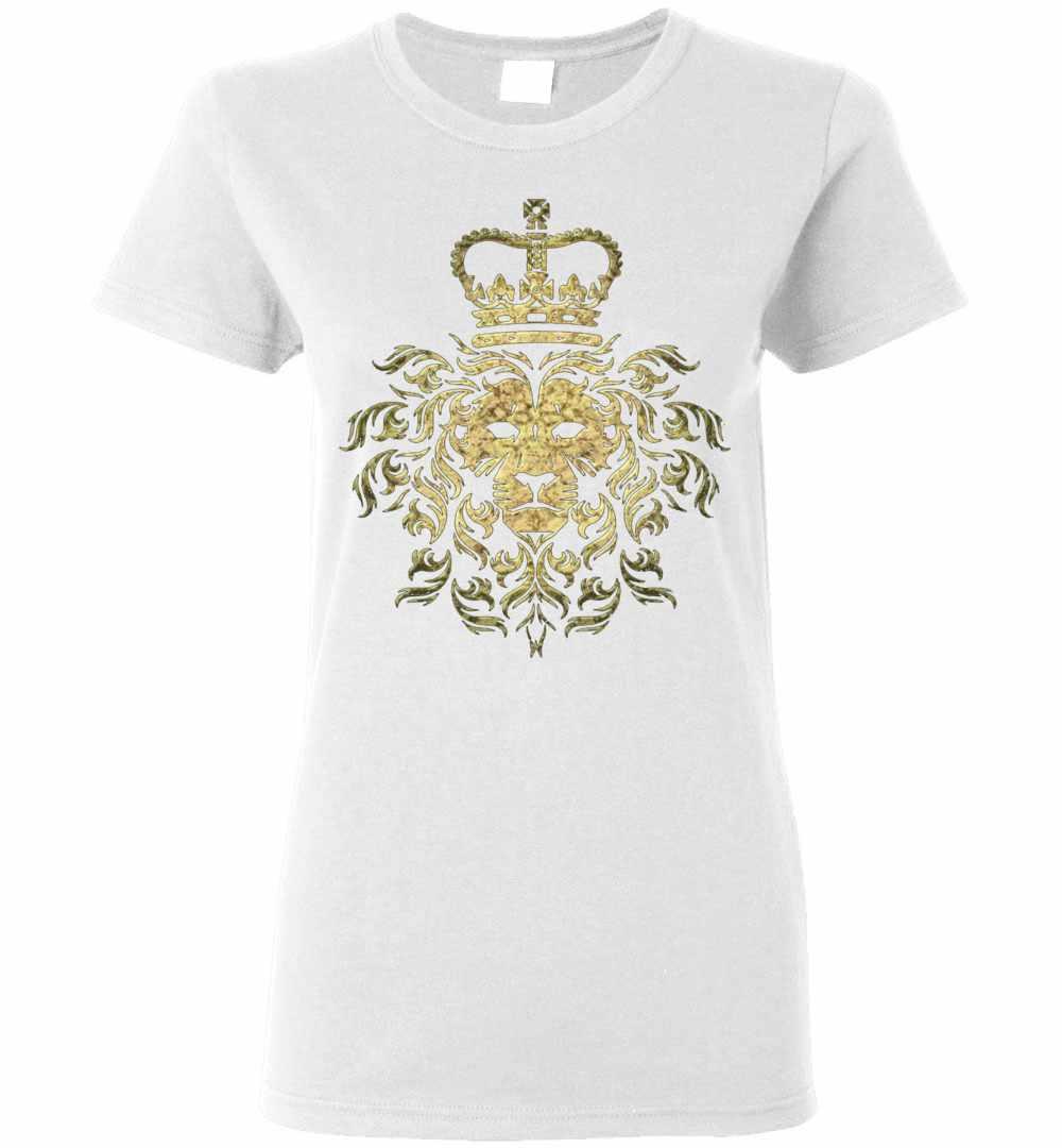 e9659772 Vintage Gucci Majestic Lion Women's T Shirt Amazon Best Seller