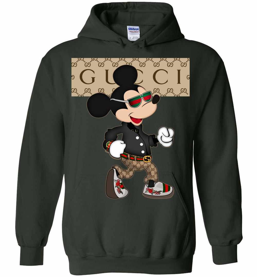 9eaedc74157 Gucci Mickey Mouse Stylish Hoodies Amazon Best Seller
