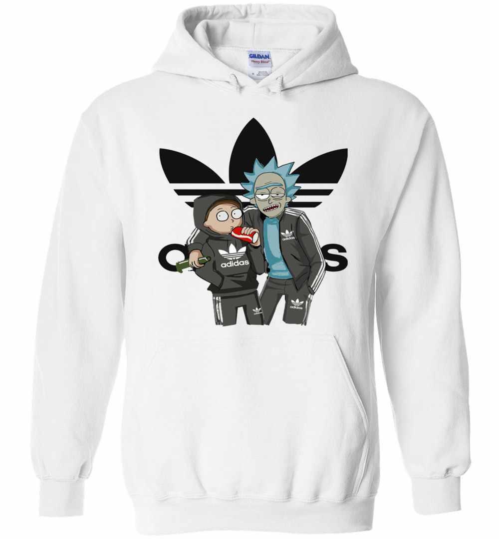 rick and morty adidas hoodie