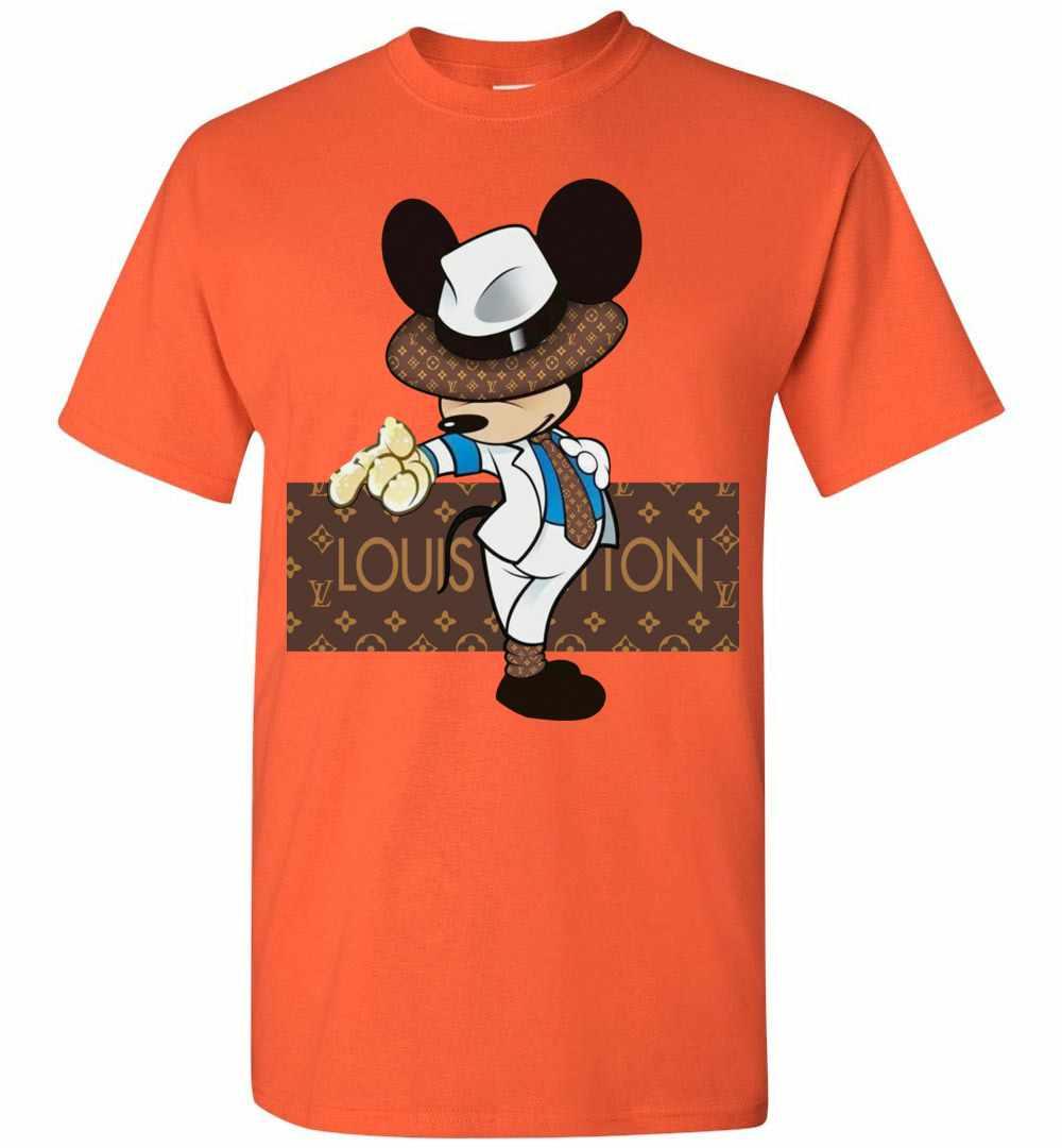 a90f608a Louis Vuitton Mickey Mouse Men's T Shirt Amazon Best Seller