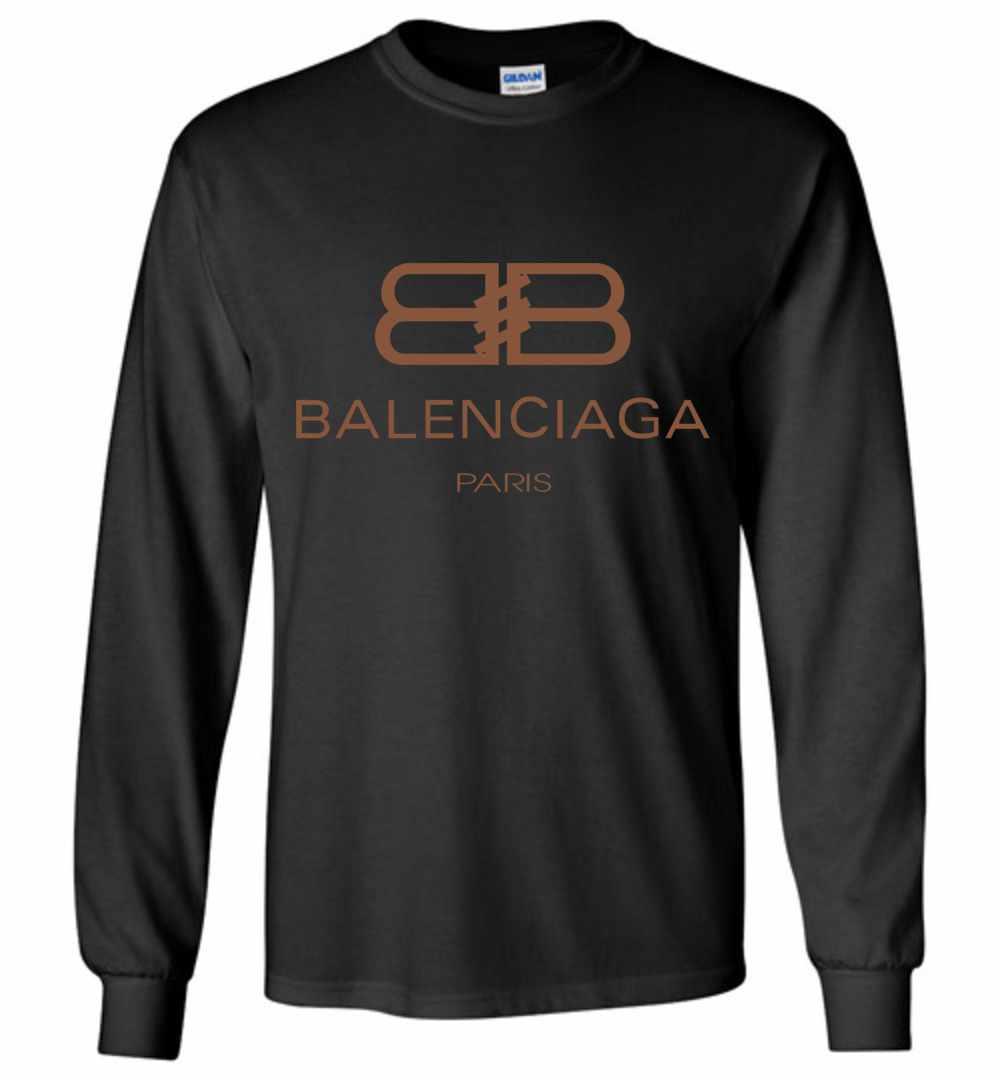 5233c1780fae Balenciaga Long Sleeve T Shirt Amazon Best Seller
