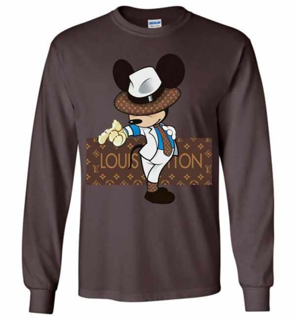 Louis Vuitton Mickey Mouse Long Sleeve T Shirt Amazon Best Seller