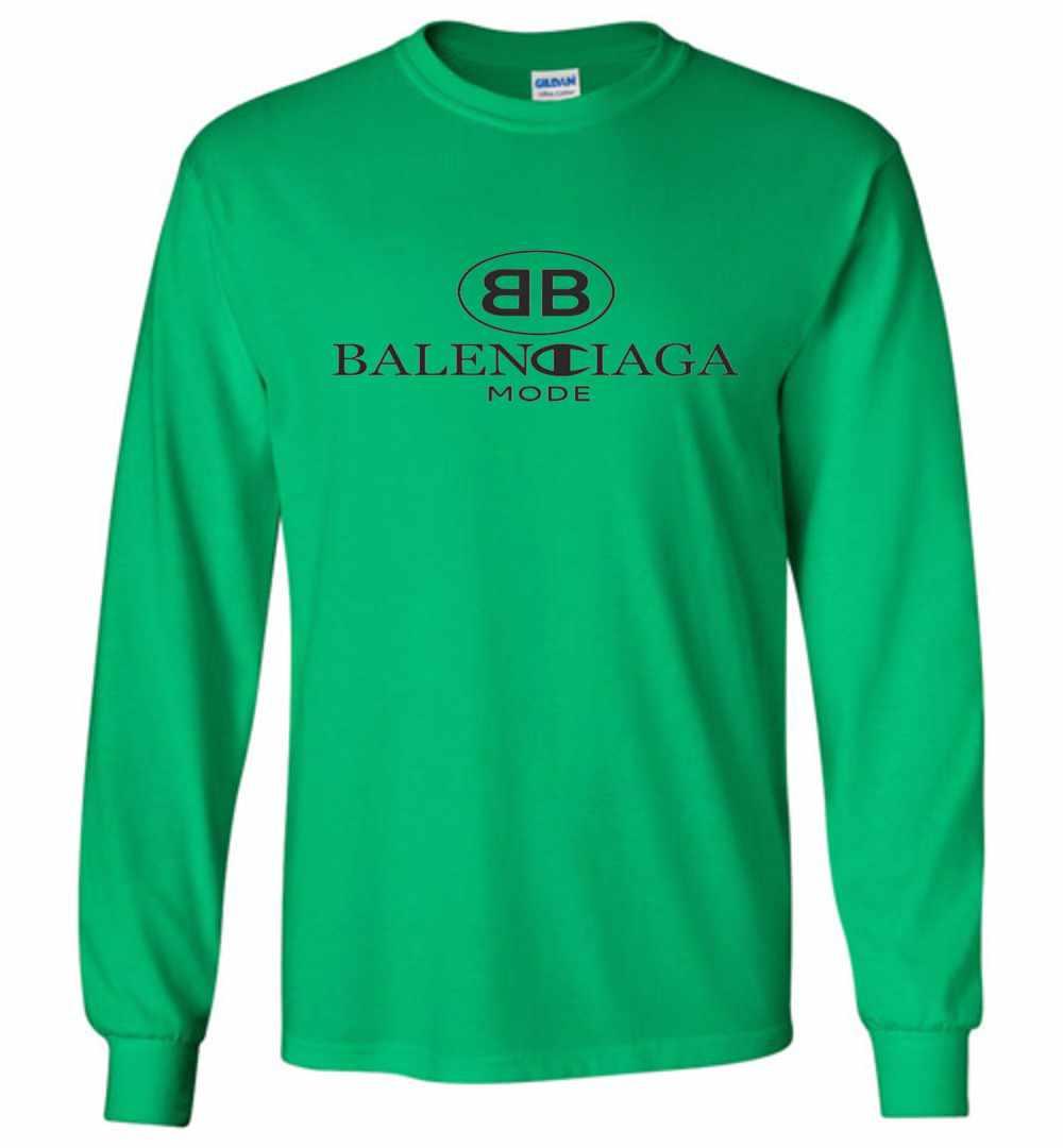 6c67797652da Balenciaga X Champion 2018 Long Sleeve T Shirt Amazon Best Seller