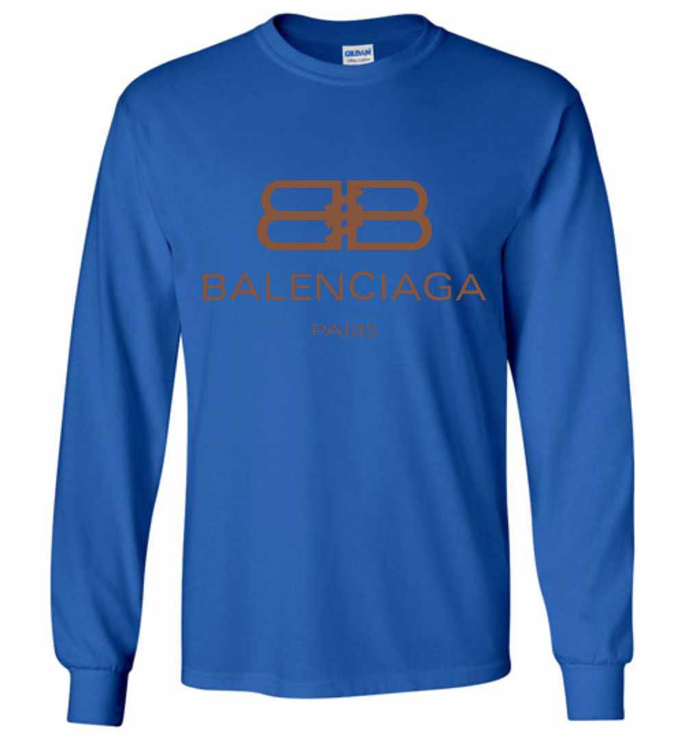6abfa999aae65 Balenciaga Long Sleeve T-Shirt
