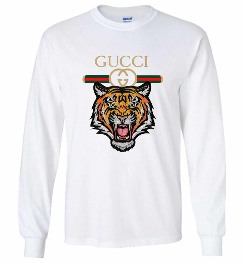 6f0991abbda002 Tiger Gucci 2018 Long Sleeve T Shirt ...