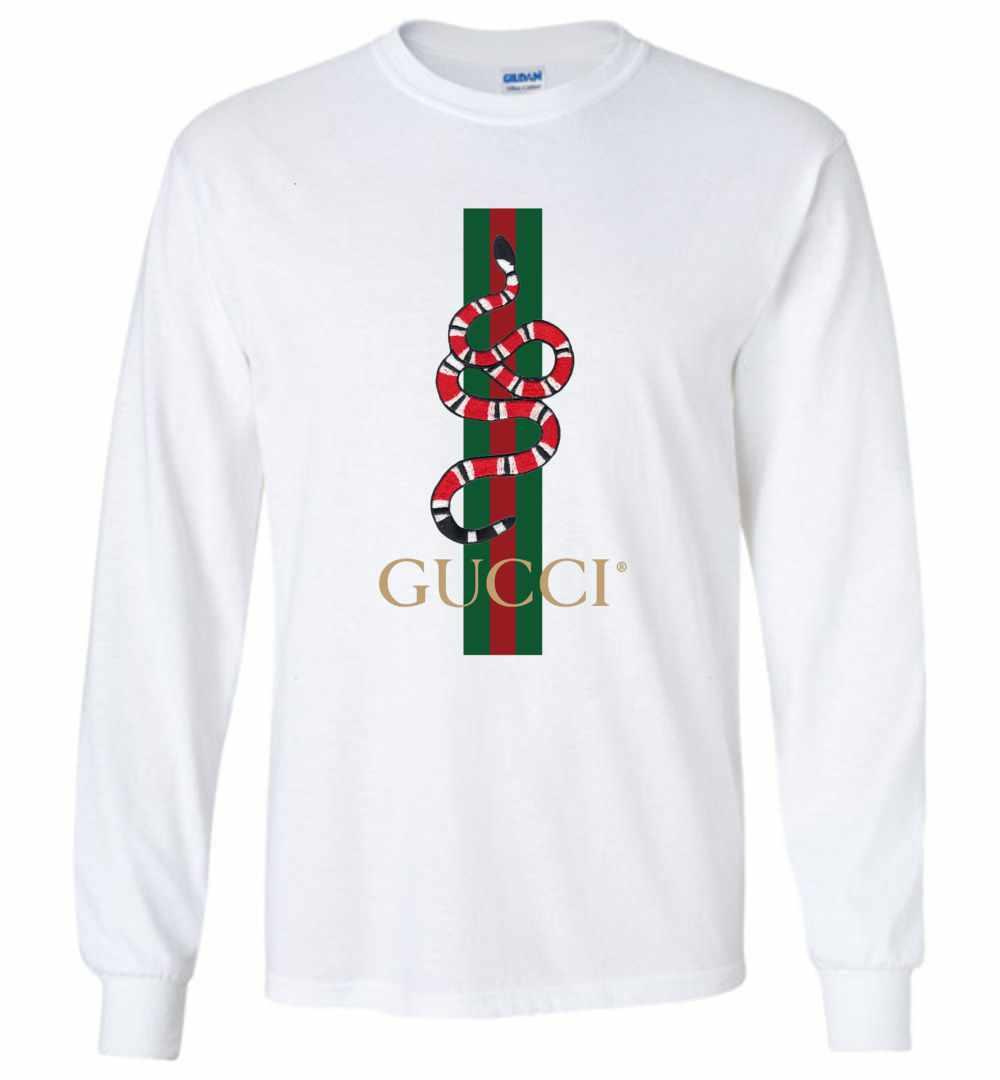 34c4c4eb7 Gucci Snake Long Sleeve T Shirt ...