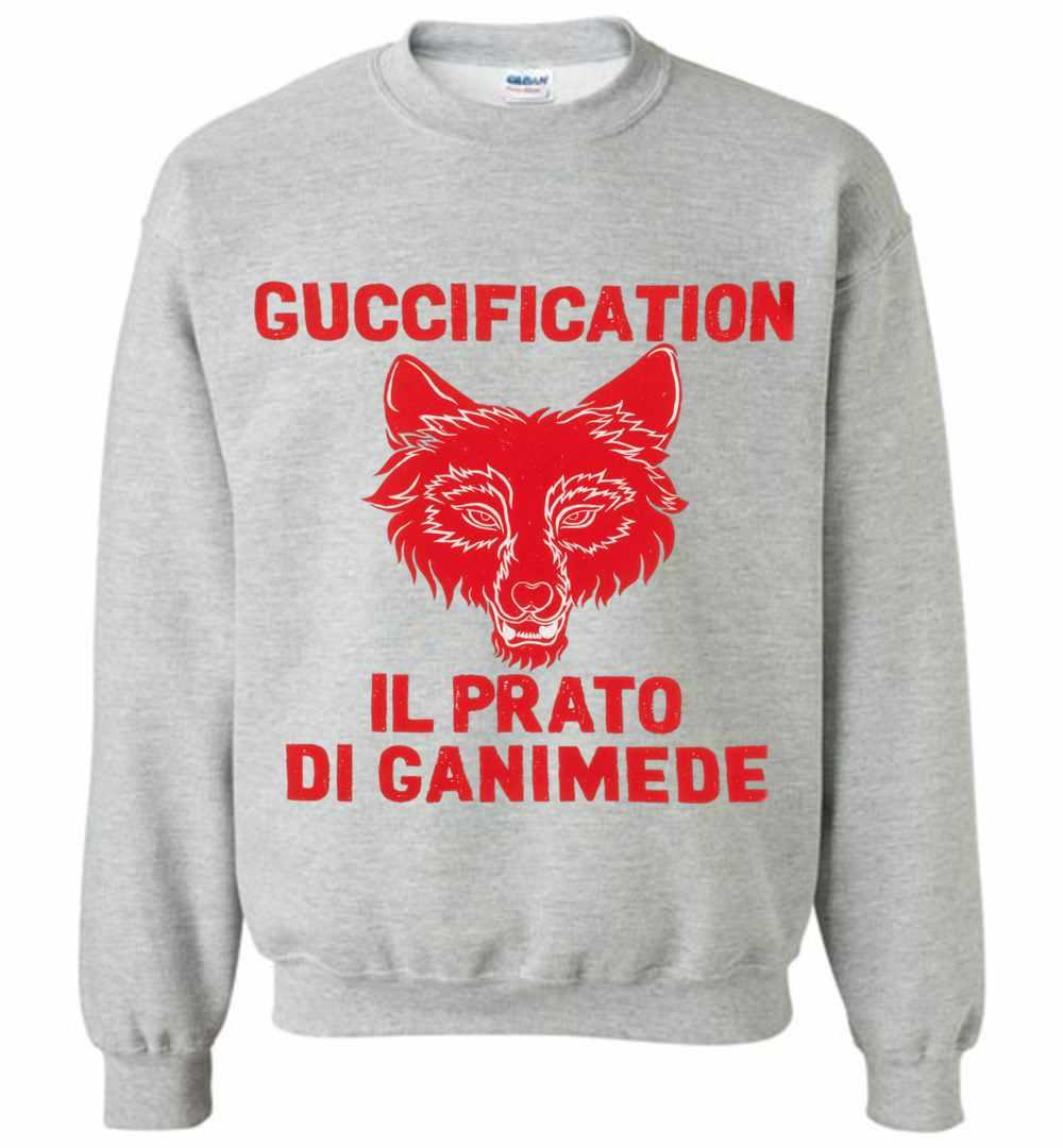 96a57f735c9 Il Prato di Ganimede Guccification Sweatshirt Amazon Best Seller
