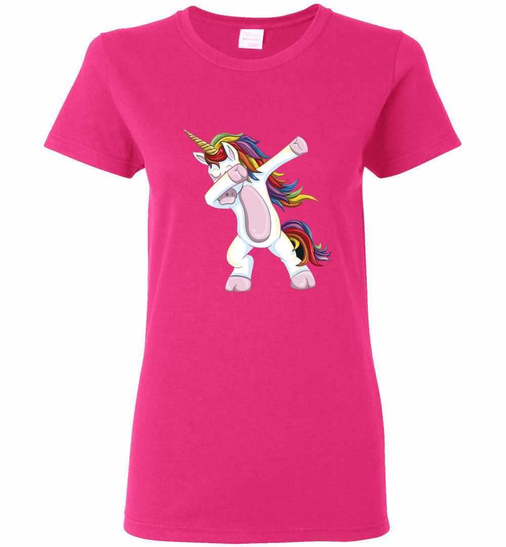 a80420b5 Dabbing Unicorn Shirt Funny Unicorn Dab Women's T Shirt Amazon Best Seller