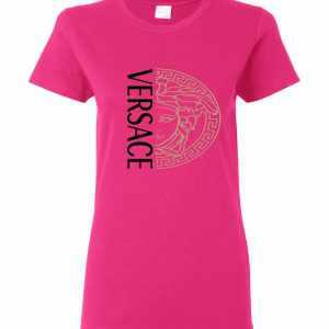 Versace Half Face Women's T-Shirt