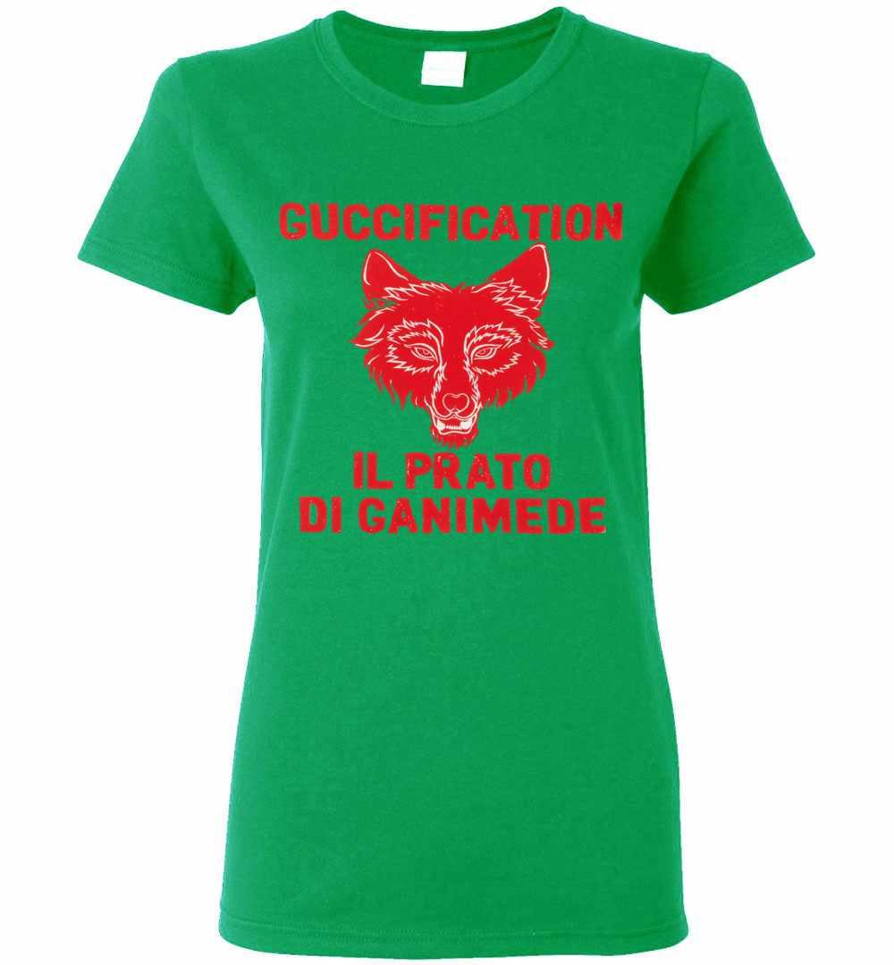 7d7eaa22314 Il Prato di Ganimede Guccification Women s T Shirt Amazon Best Seller