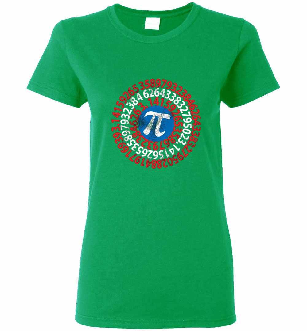 a63bbf308 Captain Pi 3 14 Nerdy Geeky Nerd Geek Math Student Women's T Shirt Amazon  Best Seller