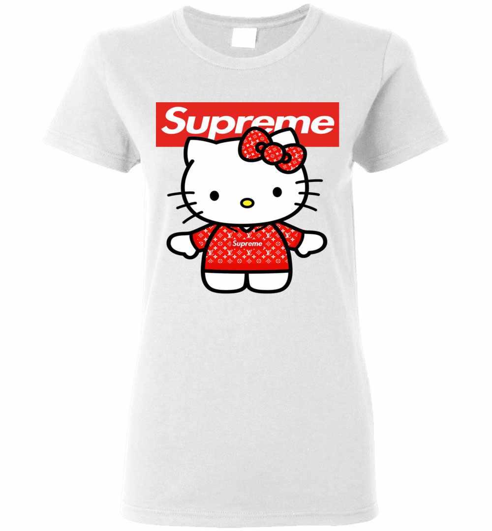 Hello Kitty Supreme Women s T Shirt Amazon Best Seller 54bf6aa07e