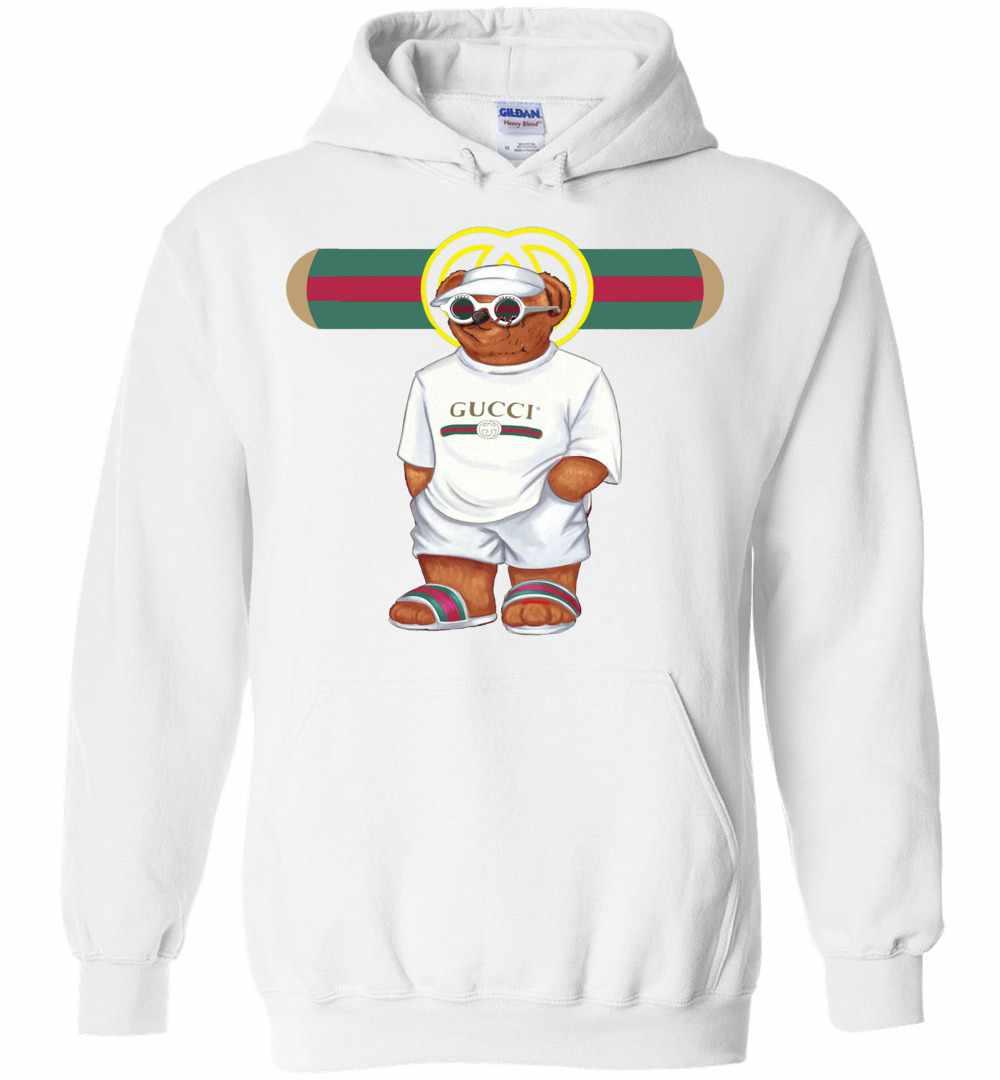 5adb2fc11c9 Bear In White Gucci Hoodies Amazon Best Seller