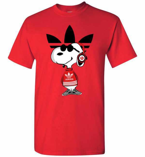 Snoopy Adidas Men's T Shirt Amazon Best Seller
