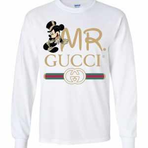 672bda8a Gucci Couple Disney Mickey Valentine's Day 2019 Long Sleeve T-Shirt