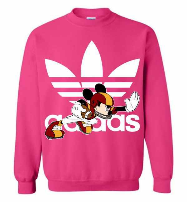 Mickey Mouse Adidas American Football Sweatshirt Amazon Best Seller c4534715f