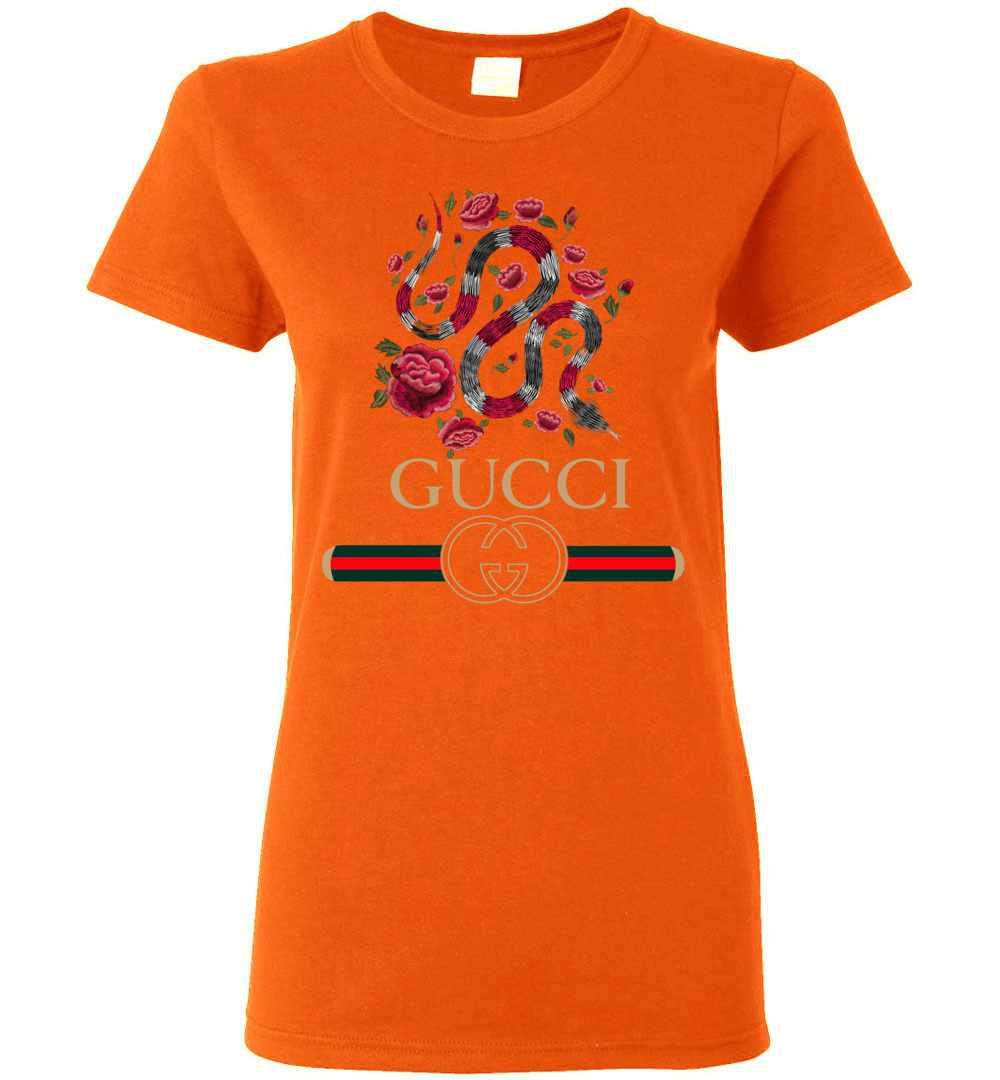b0ddb20b6f6 Gucci Logo Snake 2018 Women s T Shirt Amazon Best Seller